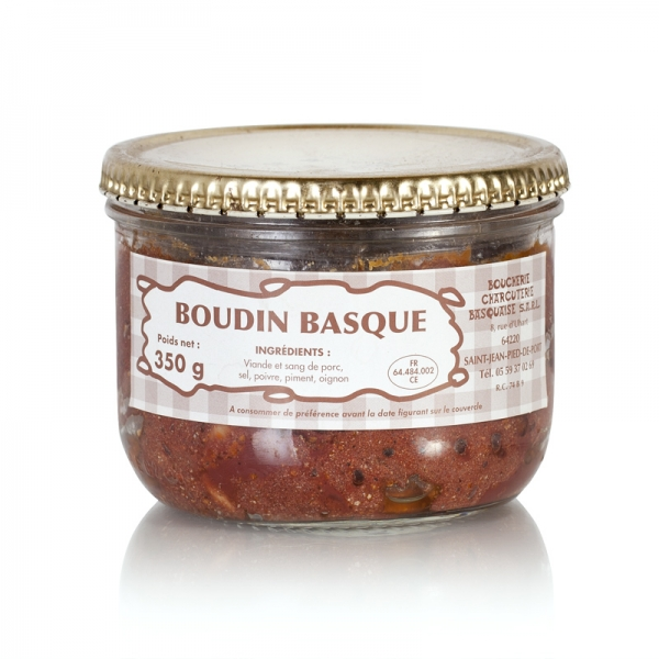 verrine de boudin basque 350 g