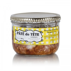 charcuterie basquaise verrine de pat de tete hure 300 g. Black Bedroom Furniture Sets. Home Design Ideas